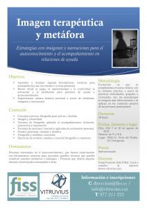 Imatge terapèutica i Metàfora (ESP)
